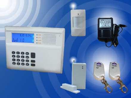 Alarm bežični - dojava preko klas.tel.lin. * 5 senzora