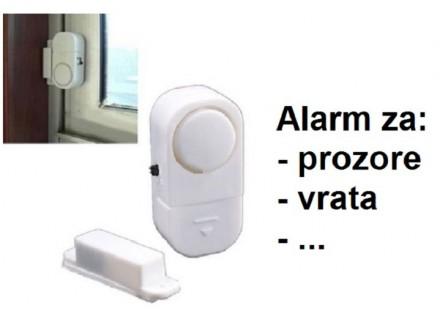 Alarm za vrata i prozore sa sirenom 90dB