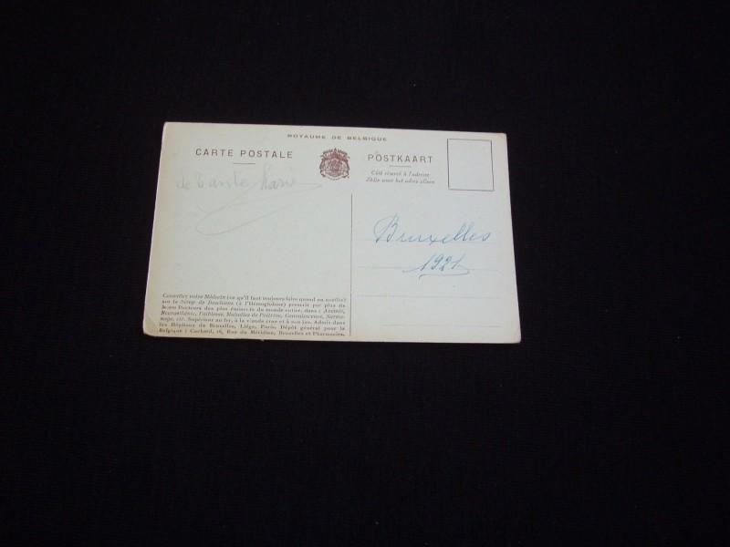 Albert Prvi,Belgijski Kralj,Prvi Rat,color razglednica.