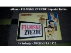 Album - FILMSKE ZVEZDE Imperial Krško 1972.
