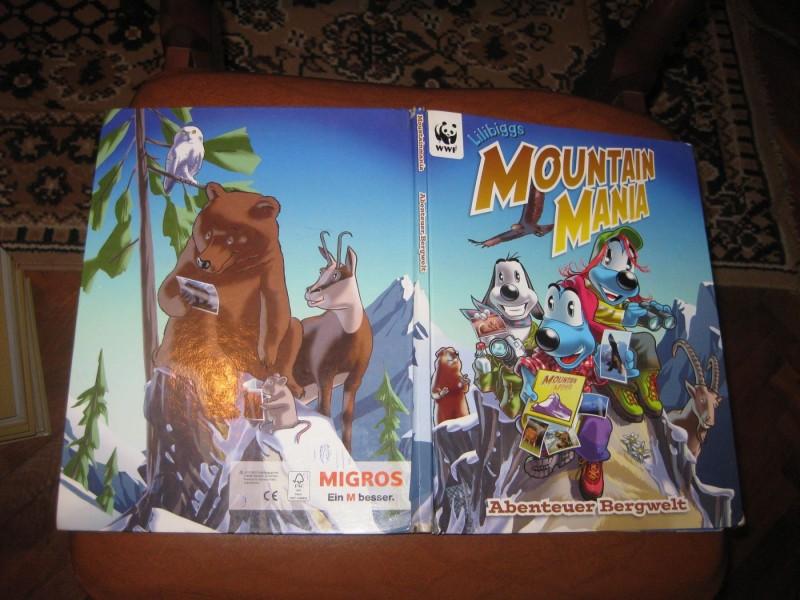 Album sa sličicama - Mountain Mania