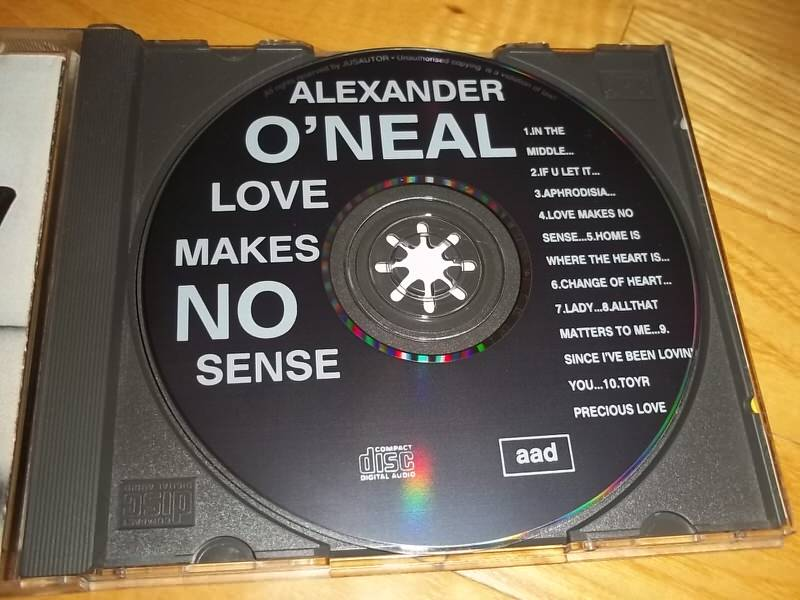 Alexander O`Neal - Love Makes No Sense