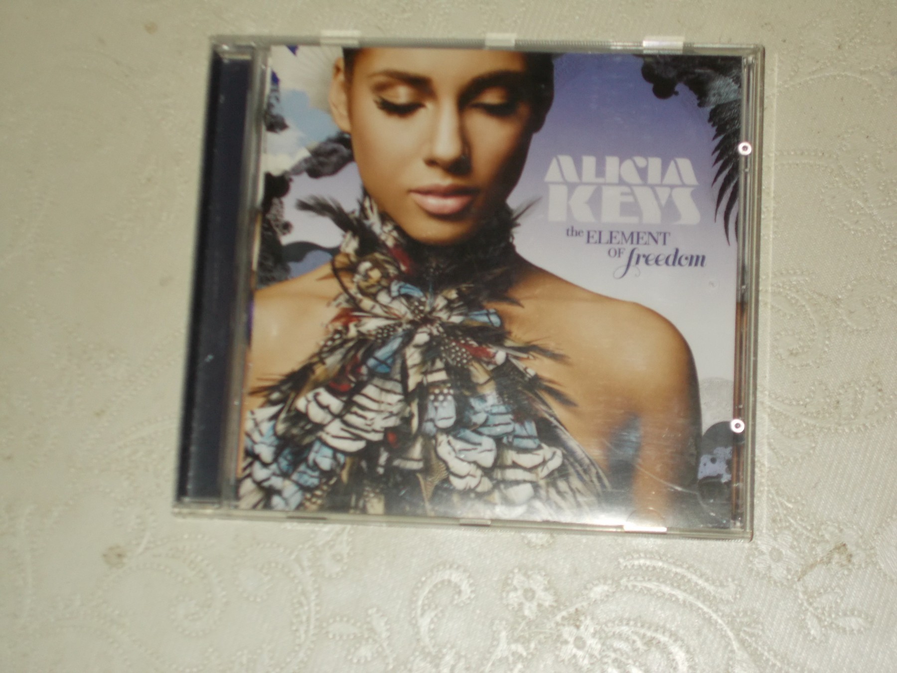 Angela Jane Melini alicia keys ‎– the element of freedom - kupindo (42560257)