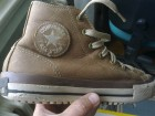 All Star Converse duboke braon kozne patike br.38