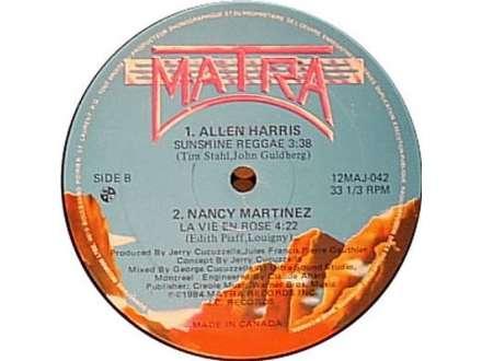 Allen Harris, Nancy Martinez - Sunshine Reggae / La Vie En Rose