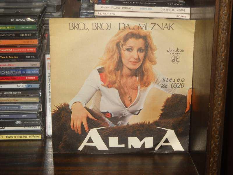 Alma Ekmečić - Broj, Broj / Daj Mi Znak