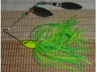Alpha Fish spinner bait - duble spin - fluo dress 17g