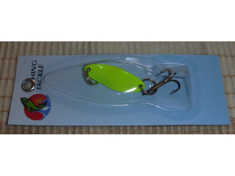 Alpha fish kasika 3cm - 5g yellow lady