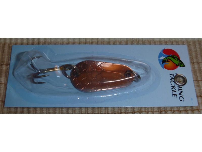 Alpha fish kasika 3cm - 7g bronze lady