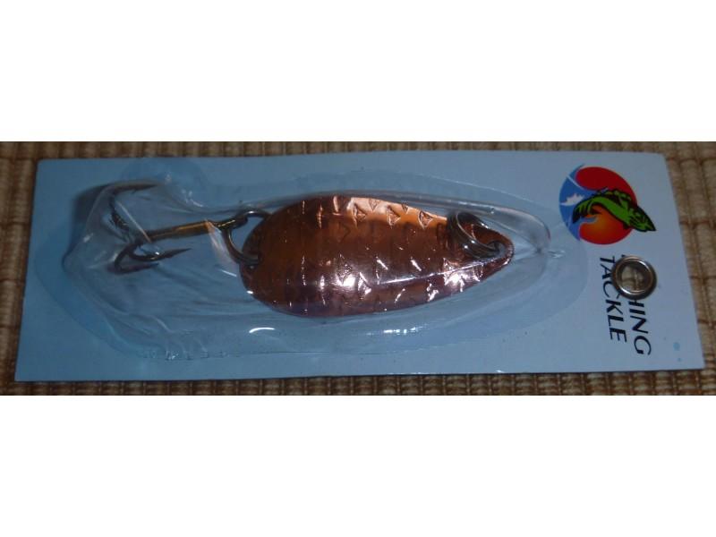Alpha fish kasika 4cm - 5g bronze floater