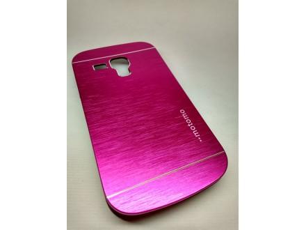 Aluminijumska Motomo maska Samsung Galaxy Trend roze