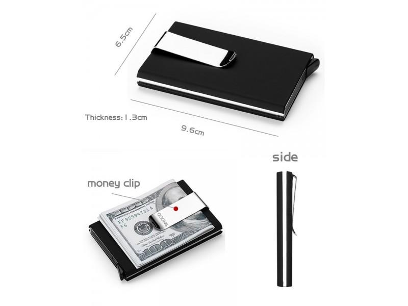 Aluminijumski novčanik - držač kartica 2