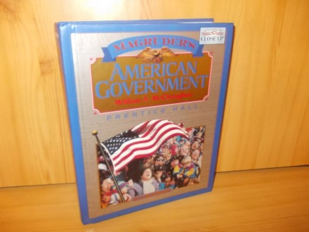 American government - william McClenaghan
