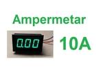 Ampermetar DC 10A zeleni displej