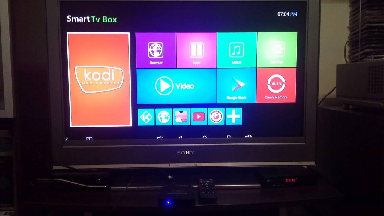 Android TV BOX 4K Quad Core