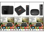 Android smart tv box 2/16GB + Original TV lista