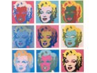 Andy Warhol`s Marilyn mozaik POSTER 33 x 33 cm