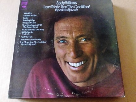 Andy Williams -Love Theme From The Godfather,orig,mint