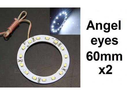Angel eyes prstenovi - LED - 60mm / 44mm