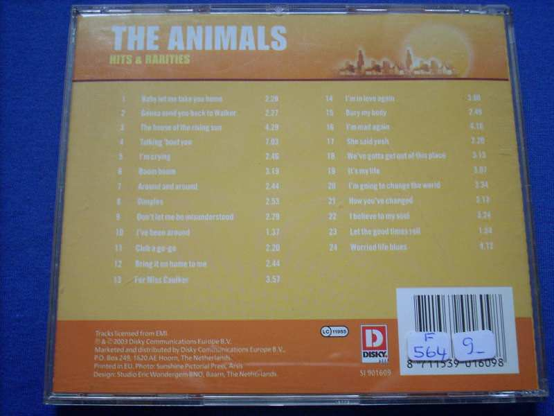 Animals, The - Hits & Rarities