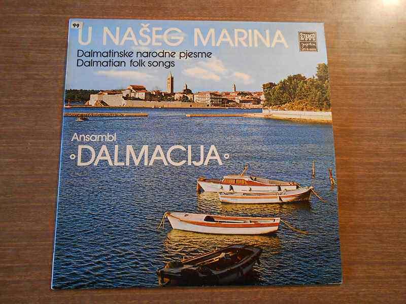 Ansambl `Dalmacija` - U Našeg Marina