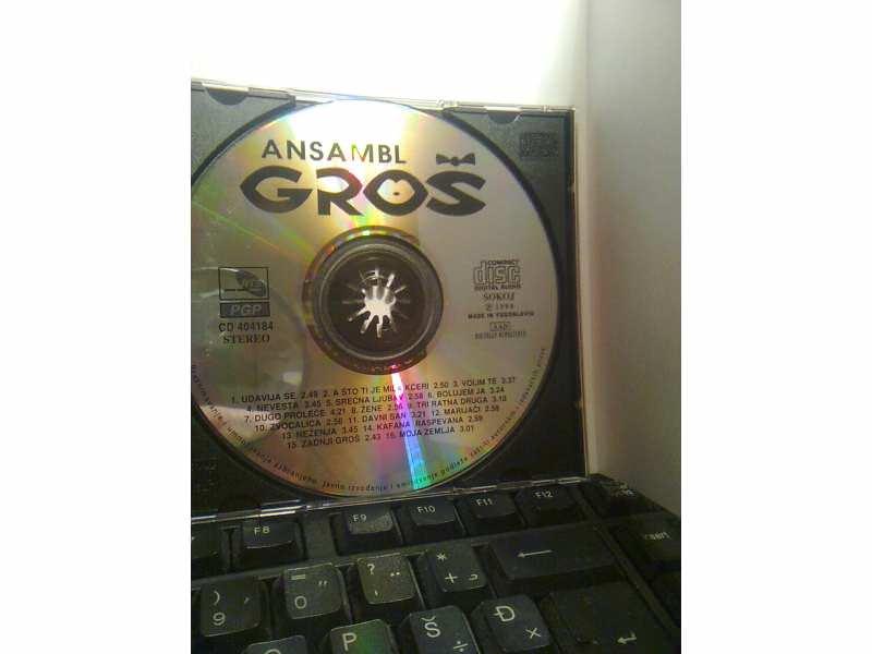 Ansambl Gros - Udavija se