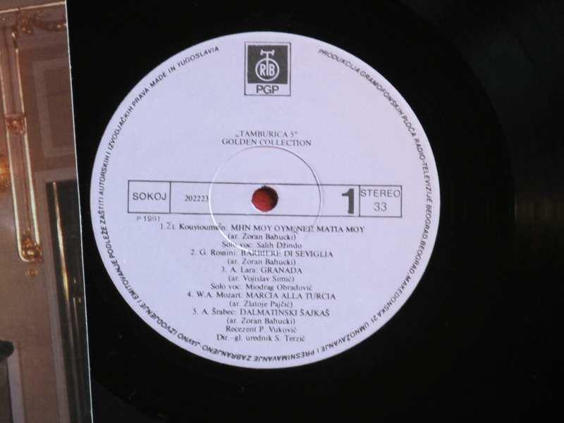 Ansambl Tamburica 5 - Golden Collection