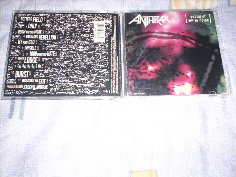Anthrax - Sound Of White Noise CD