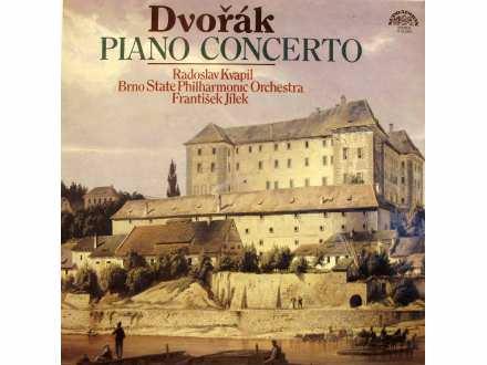 Antonín Dvořák, Radoslav Kvapil, Brno State Philharmonic Orchestra, František Jílek - Koncert g Moll Pro Klavír A Orchestr