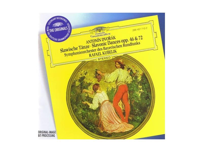 Antonín Dvořák, Symphonie-Orchester Des Bayerischen Rundfunks, Rafael Kubelik - Slawische Tänze - Slavonic Dances Opp. 46 & 72
