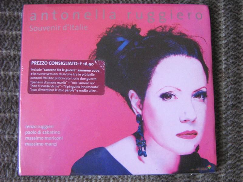 Antonella Ruggiero - Souvenir d`Italie
