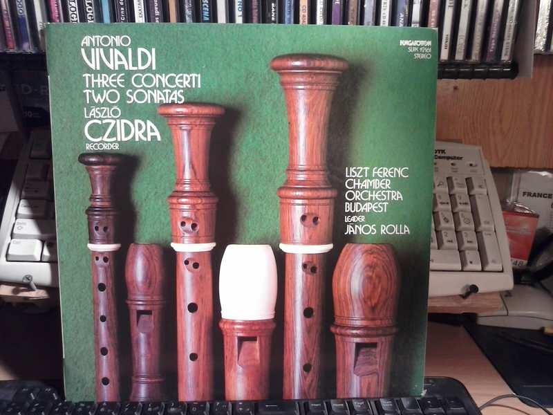 Antonio Vivaldi - Antonio Vivaldi - Three concerti /Two sonatas