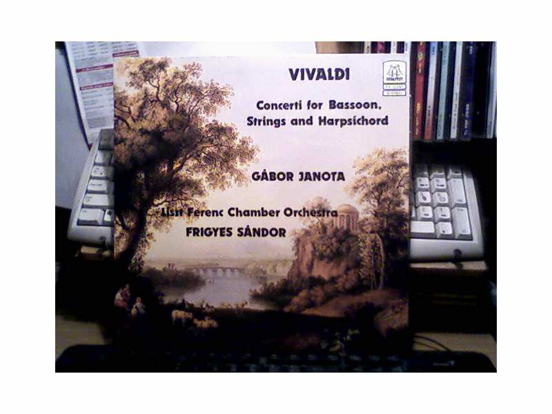 Antonio Vivaldi - Six Concerti For BAssoon, Strings And Harpsichord