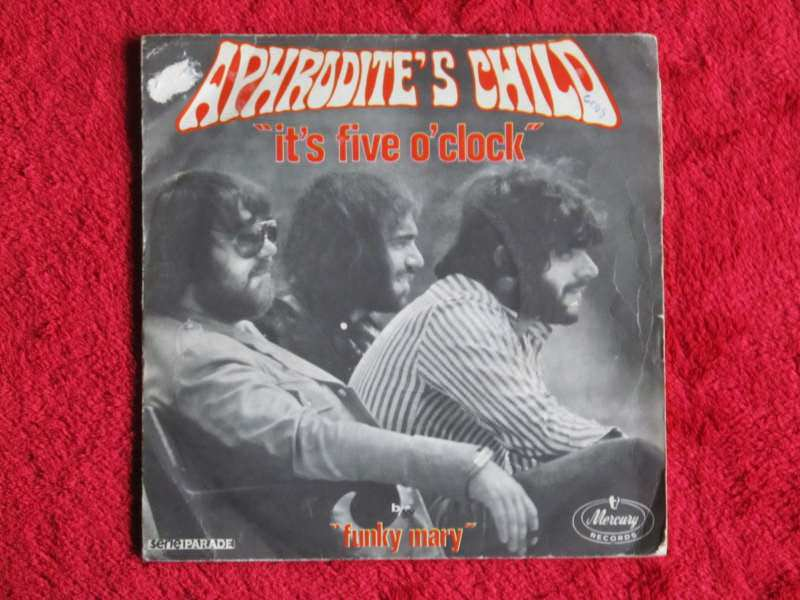 Aphrodite`s Child - It`s Five O` Clock / Funky Mary