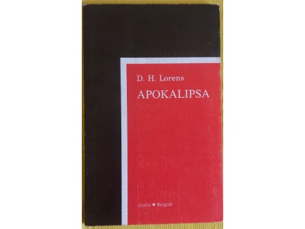 Apokalipsa  D.H. Lorens