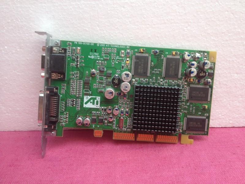 Apple ATi Radeon AGP graficka kartica 32MB + GARANCIJA!