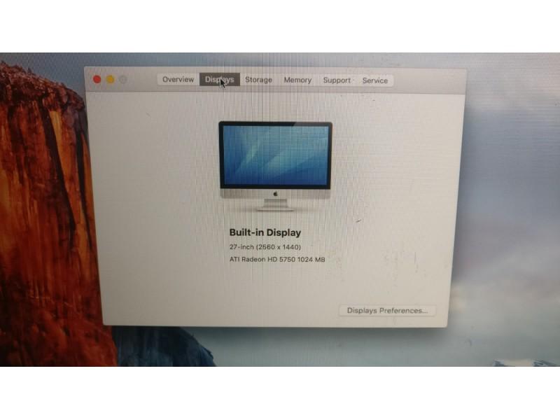 Apple iMac 27 i5/4Gb/1TAti 5770 1Gb