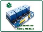 Arduino izlazni rele modul sa 4 kanala