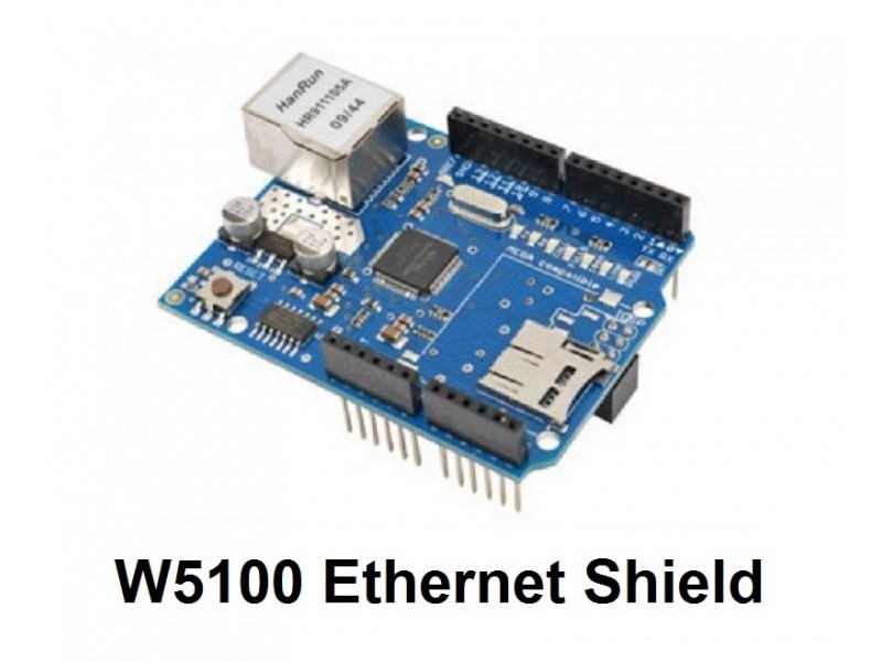 Arduino mrezni modul W5100 Ethernet Shield + TF slot