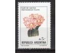 Argentina,Flora 1987.,čisto