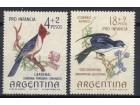 Argentina,Ptice 1964.,čisto