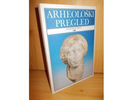 Arheološki pregled 1988 /Archaeological Reports