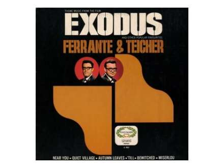 Arthur Ferrante, Louis Teicher - Theme Music From The Film Exodus And Other Popular Favorites