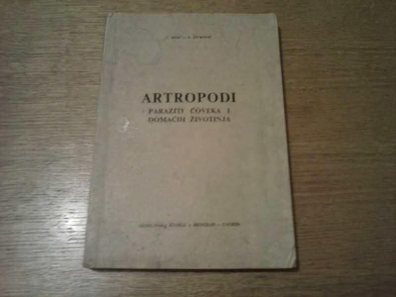 Artropodi - Paraziti Coveka i Domacih Zivotinja