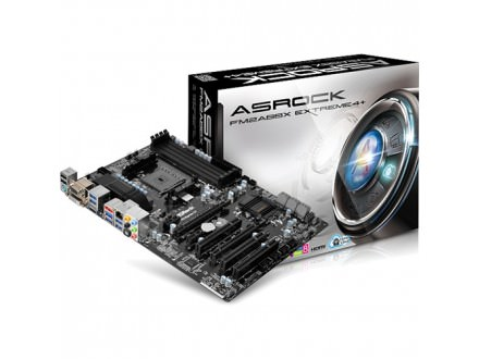 Asrock AMD FM2/FM2+ FM2A88X Extreme4+ , DDR3 2600+, GLAN, PCI-E 3.0, USB3.0, e-SATA, HDMI, DVI, VGA, ATX