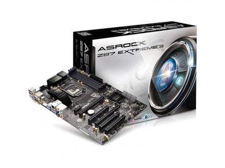 Asrock Intel 1150 Z87 Extreme3 , DDR3 2933+(OC), GLAN, PCI-E3.0, USB3.0, HDMI, DVI, VGA, ATX