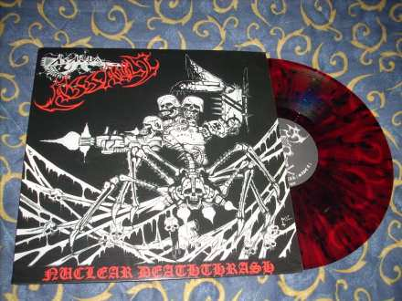 Assault - Nuclear Deathrash LP coloured