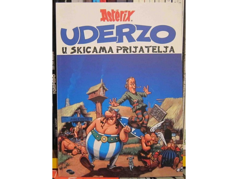 Asterix Uderzo u skicama prijatelja
