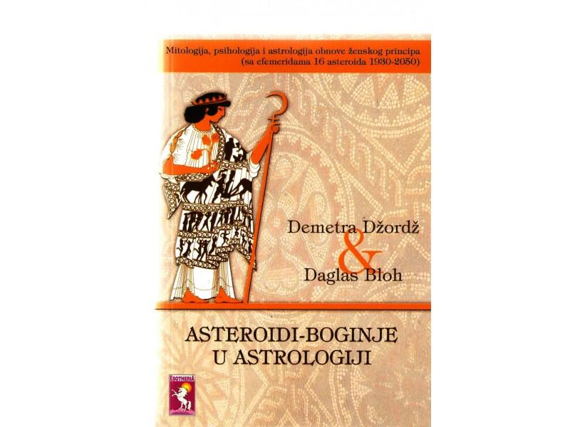 Asteroidi - Boginje u astrologiji (novo)