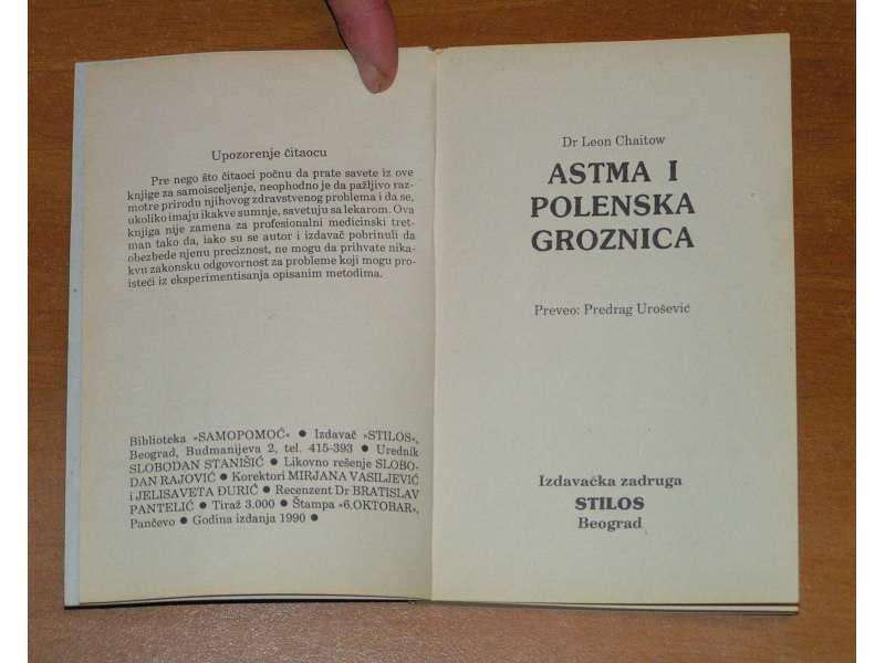 Astma i polenska groznica